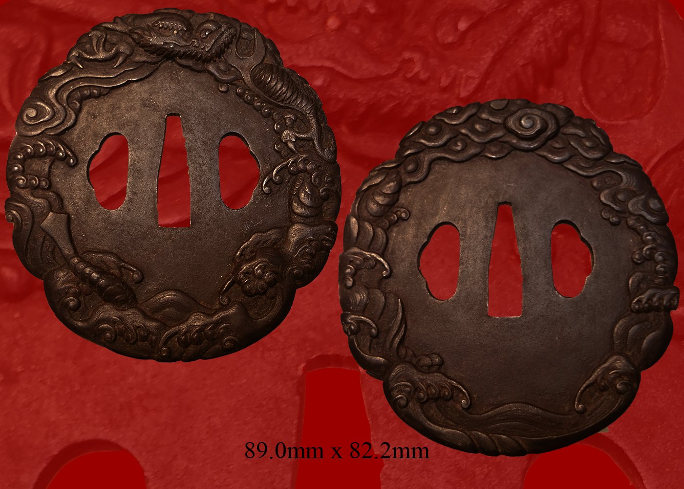 Dragon IronTsuba (fst-553)