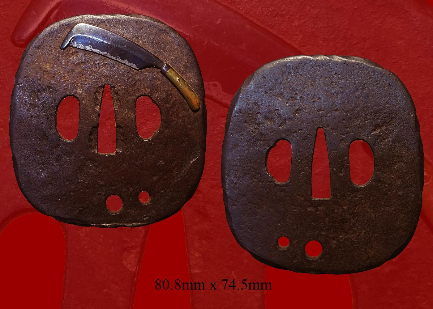 Satsuma Style Tsuba (fst-554)