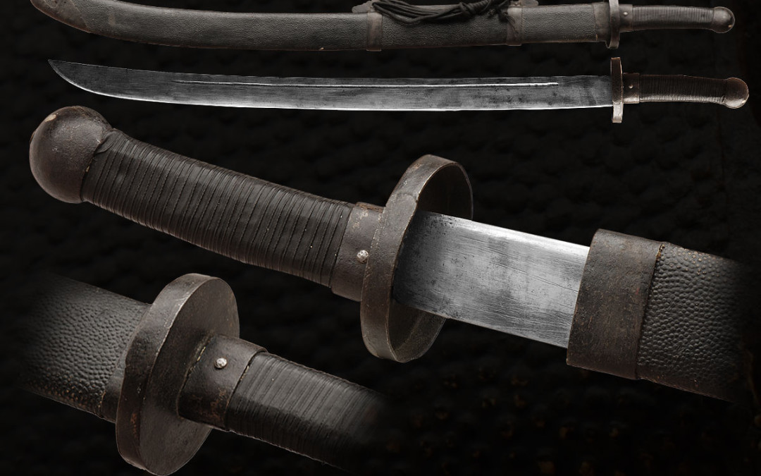 QING DYNASTY MILITARY DAO SABER (nji-108)