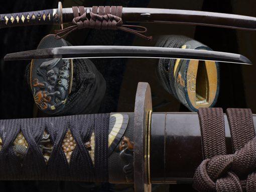 Mounted Wakazashi (fss-847)